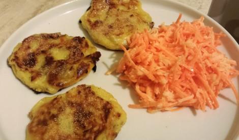 Kartupeļu plācenīši ar sēnītēm