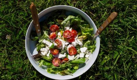 Grieķu salāti lācīša gaumē