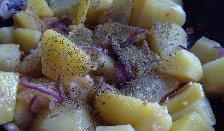 Kartupeļi itāļu gaumē