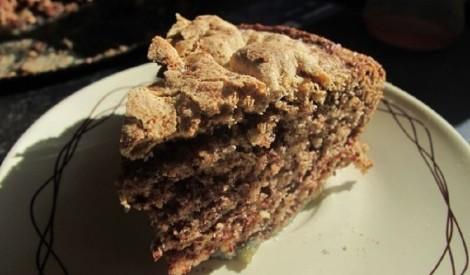 Ābolu un šokolādes kūka