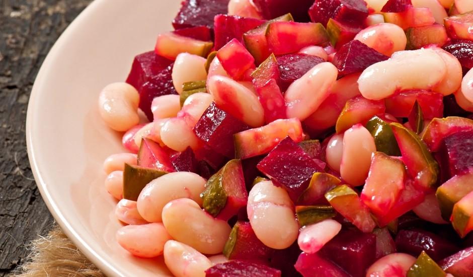 Biešu un pupiņu salāti