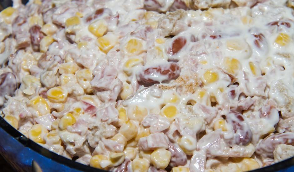 Mani pupiņu salāti