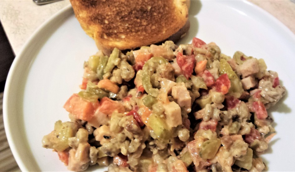Pikantie grūbu salāti