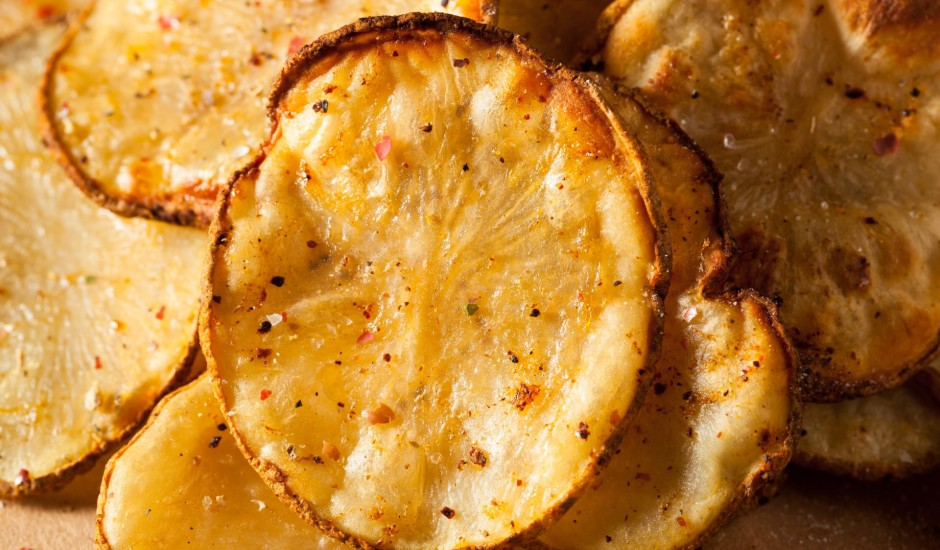 Paštaisīti kartupeļu čipsi