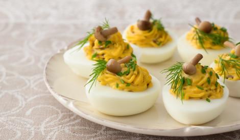 Garšīgi pildītās olas