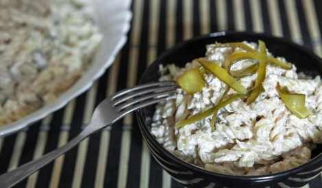 Tunča - makaronu salāti