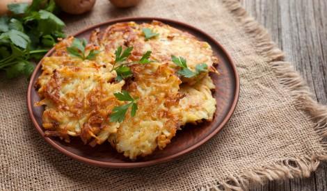 Visvienkāršākās kartupeļu pankūkas