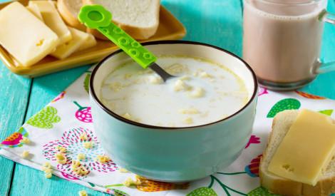 Makaronu piena zupa