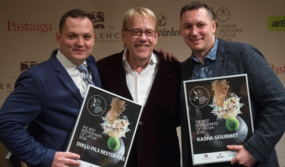 Noskaidroti 2016. gada Ekselence 30 labākie restorāni Latvijā.