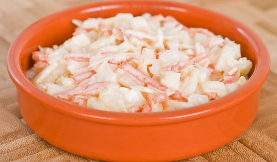 Baltā redīsa - burkānu salāti