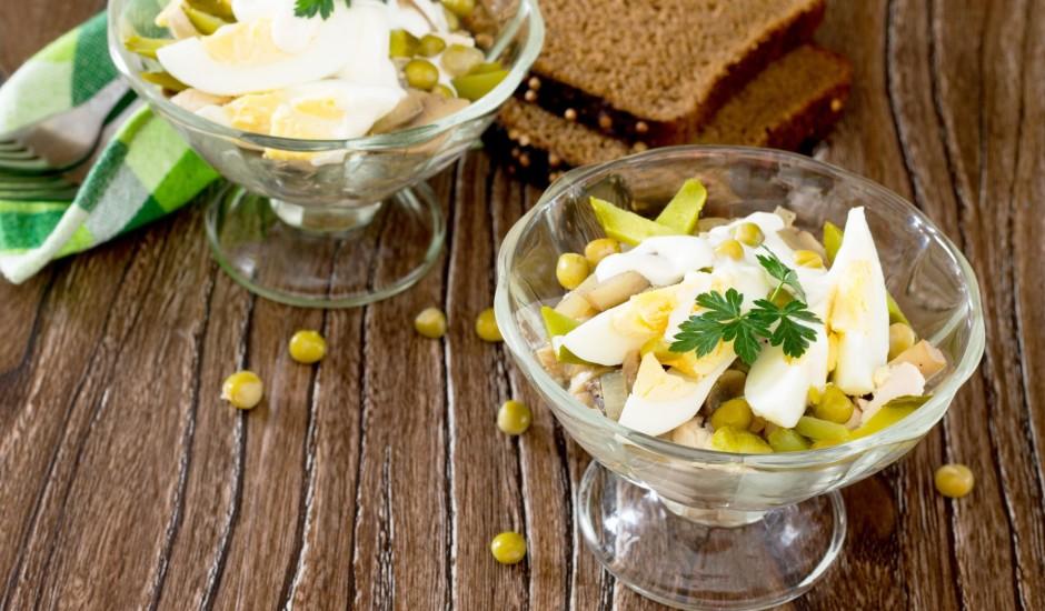 Vistas salāti ar olu