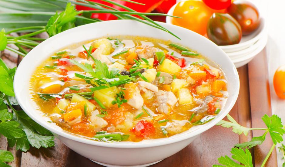 Vistas zupa ar koriandru