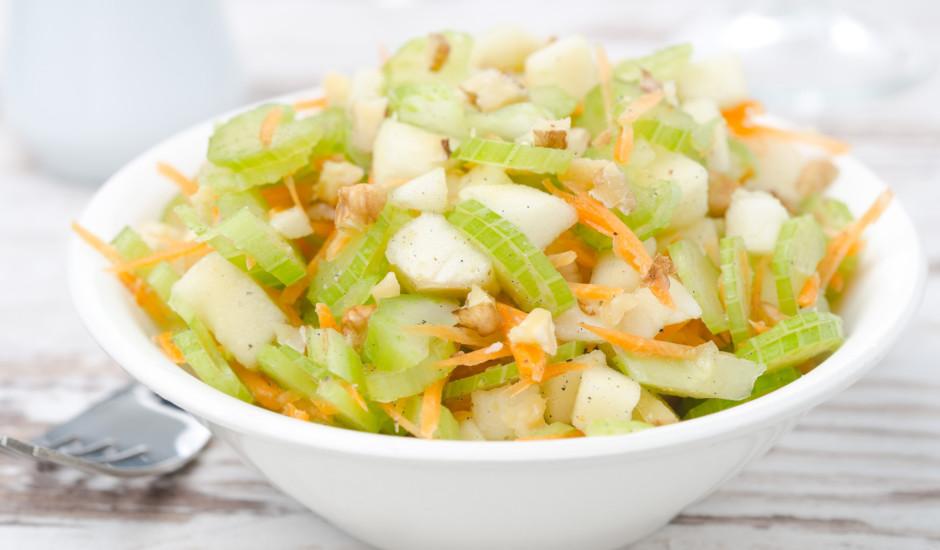Bumbieru un selerijas salāti