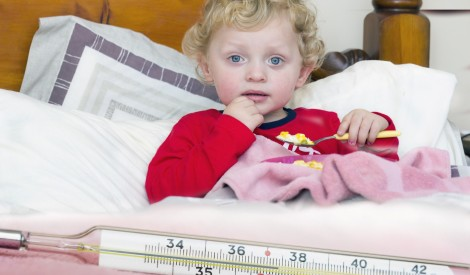 Kādi ir piemēroti ēdieni apslimušam bērnam?