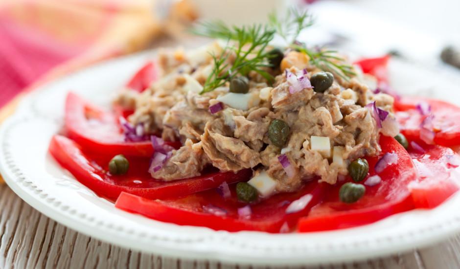 Tunča salāti franču gaumē