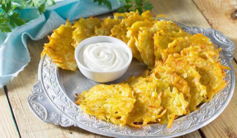 Kartupeļu pankūkas bez olām
