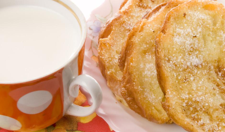 Cukurotās olu maizītes