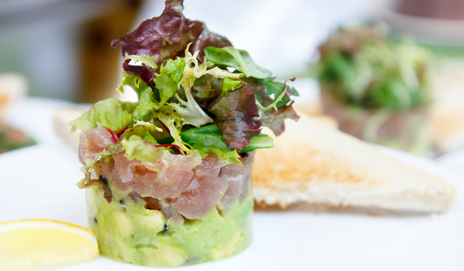 Tunča tartars ar avokado