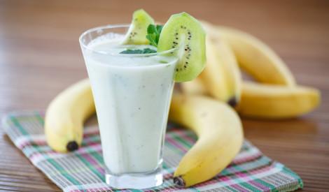 Banānu - kivi dzēriens