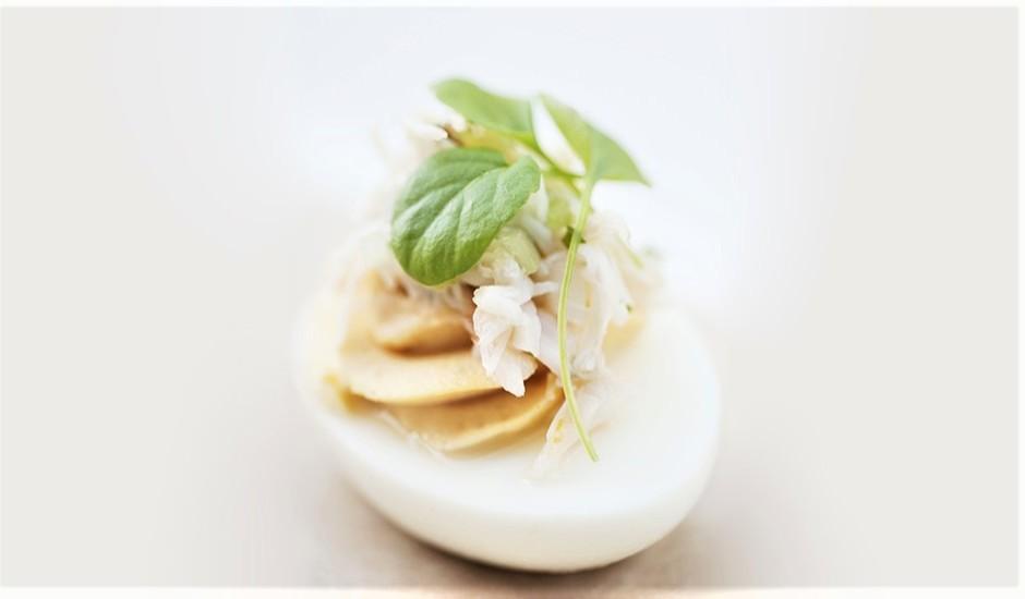 "Pildītas olas ""Mimoza"""