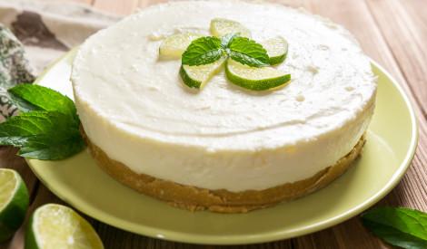Vieglā citrusaugļu siera kūka bez siera
