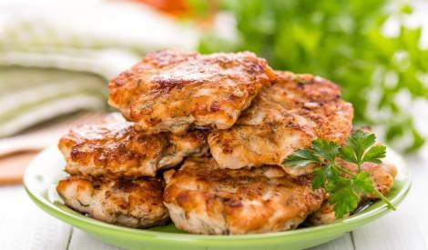 Maigās vistas filejas kotletes