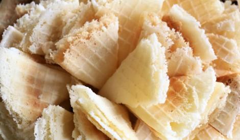 Kartupeļu cietes vafeles