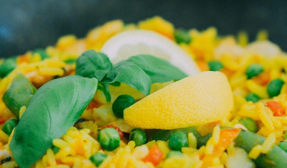 Aromātiskie rīsi ar dārzeņiem