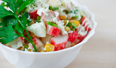 Krabju salāti - gardums