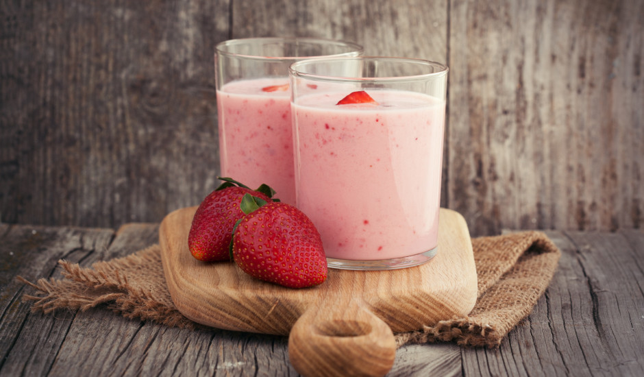 Zemeņu jogurts