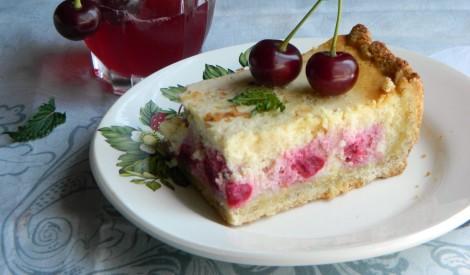 Ķiršu - biezpiena kūka