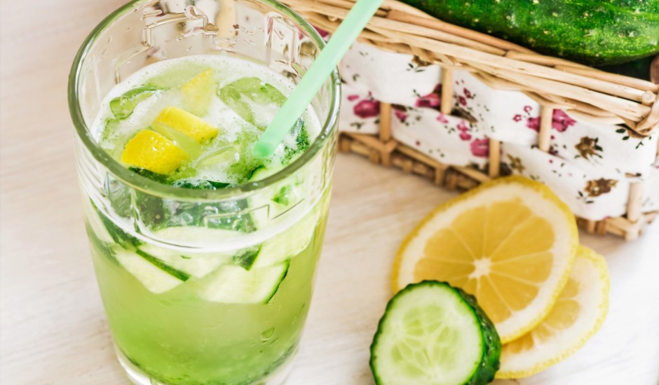 Gurķu limonāde
