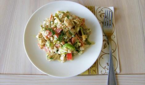 Lieliskie tomātu - šampinjonu salāti