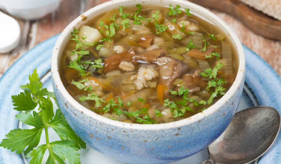 Baraviku - grūbu zupa