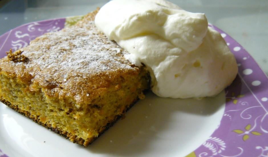 Burkānu biskvīta kūka