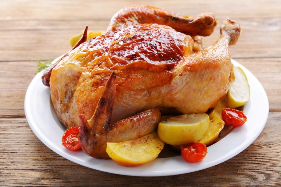 Cep vistu iepriekš uzkarsētā krāsnī 200 grādos 35 minūtes, t...