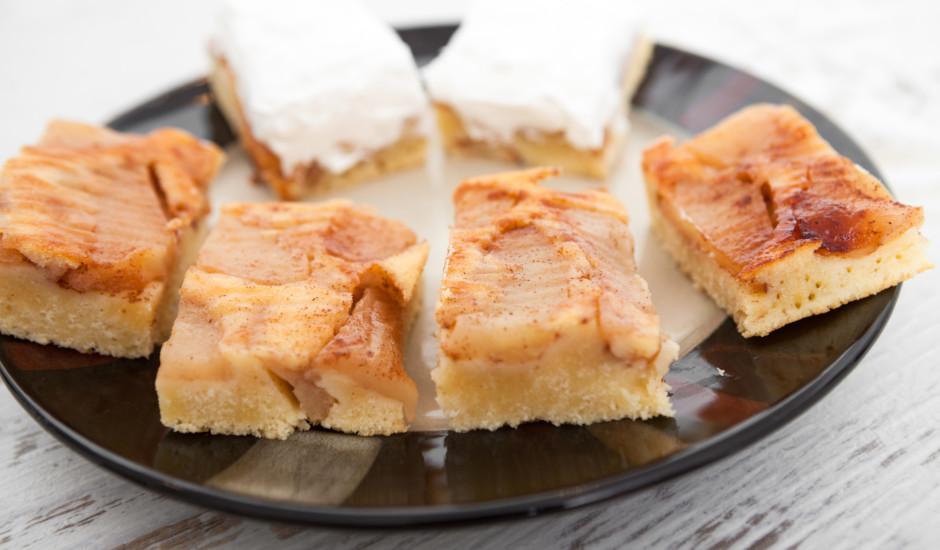 Kefīra - ābolu plātsmaize