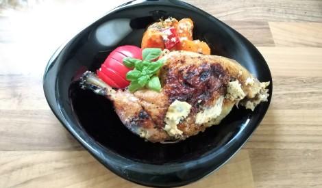 Grieztais vistas cepetis uz dārzeņiem