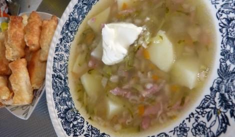 Gurķu zupa