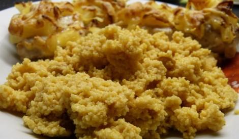 Kuskuss (cous cous) burkānu sulā