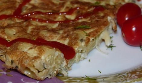 Makaronu omlete