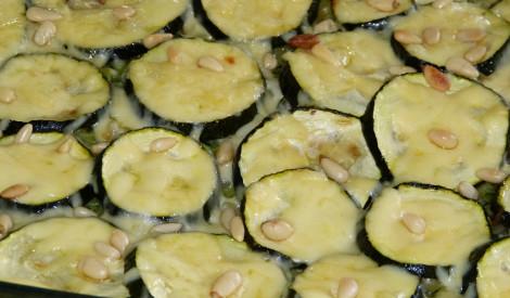 Kabaču un mazo makaronu sacepums