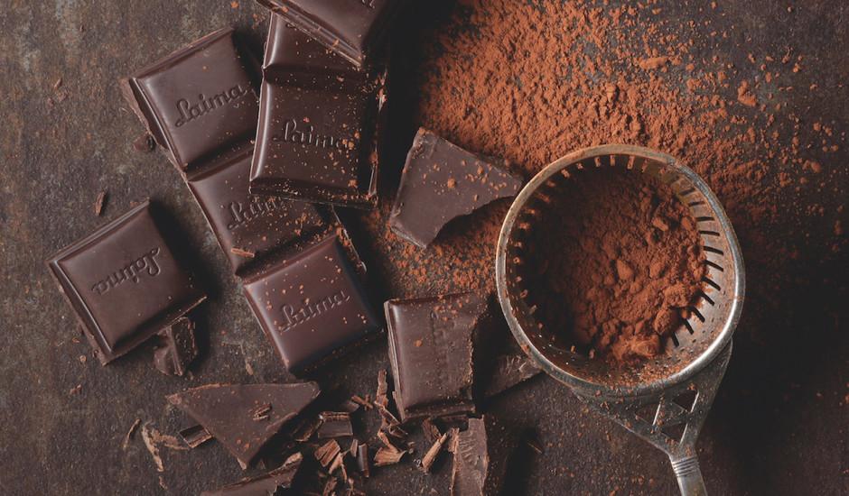 Tumšās šokolādes pozitīvās īpašības