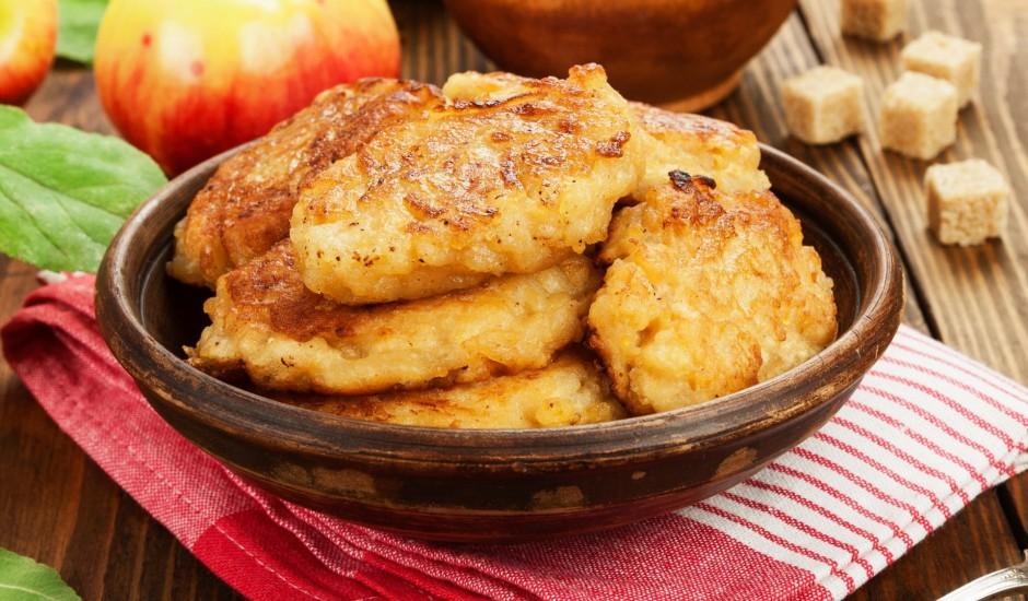 Pankūkas ar āboliem