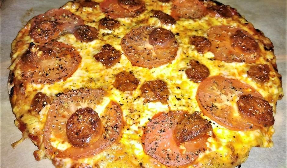 Pica ar Chirozo grill desiņām
