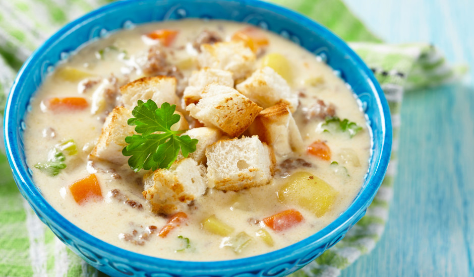 Sierrrīgās zupas - 15 sātīgas receptes!