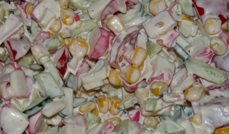 Krabju salātiņi