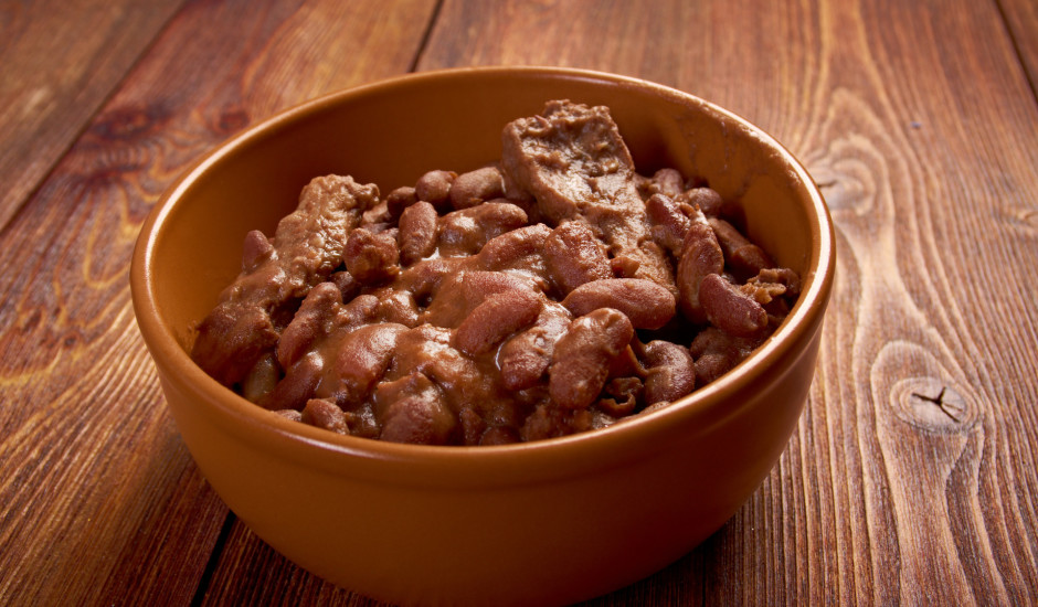 Pupiņas ar jēra vai liellopa gaļu