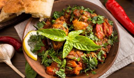 Liellopu gaļa tomātos