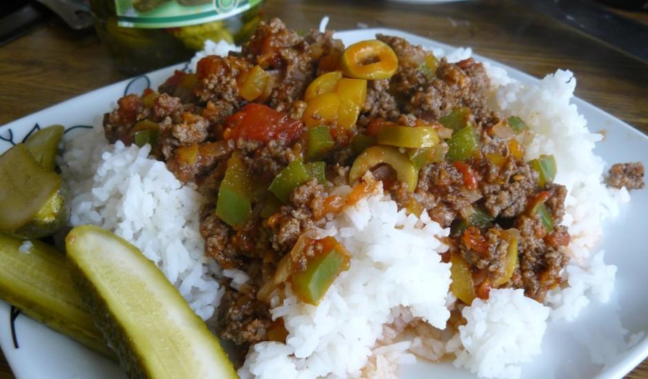 Sautēta gaļa Kubiešu gaumē
